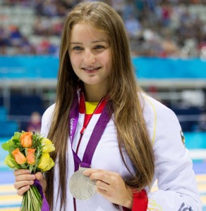 Elena bei Paralympic Games London 2012