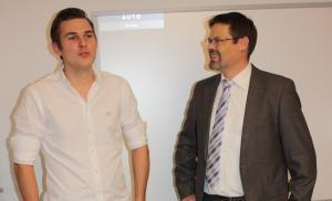 Christopher Wesley & Dr. Volker Klügl