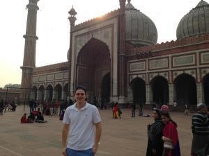 Moschee in Old Delhi
