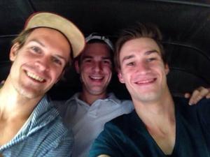 Tuk Tuk - Fahrt mit Olli Korn und Florian Fuchs