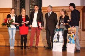Sportlerin des Jahres Elena Krawzow & Sportler des Jahres Christopher Wesley