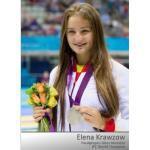 Autogrammkarten Elena Krawzow