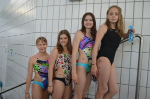 Antonia, Nina, Selina und Anna