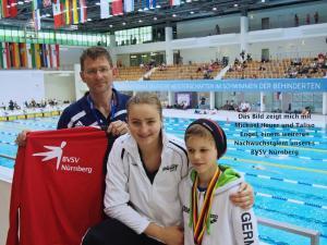 Michael Heuer, Elena Krawzow & Taliso Engel