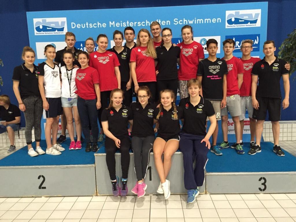 DM Schwimmen Team SG Mittelfranken 2015