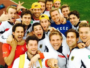 Team-Selfie nach dem Österreich Spiel