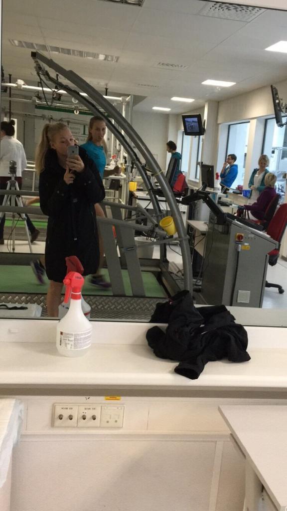 Selfie mit Anabel Knoll