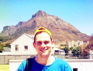 Nach dem Training vor dem Tafelberg