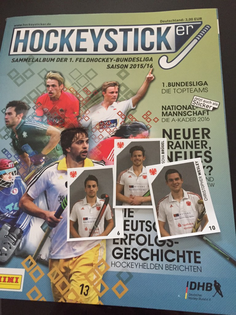 Panini Hockey 2016 - Heft