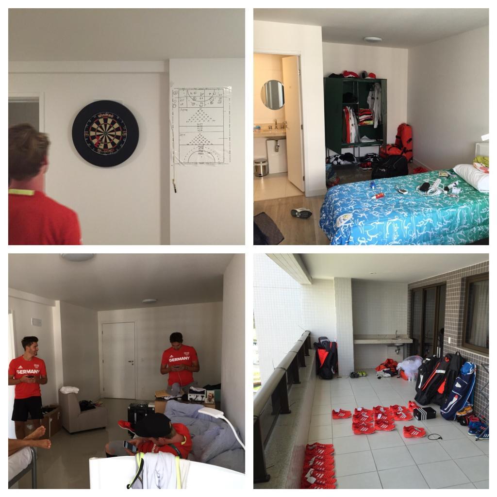 Zimmer in unserem Apartment