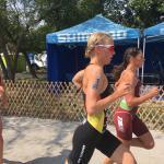 Michelle Braun Triathlon: Europacup Malmö und Szekesfehervar