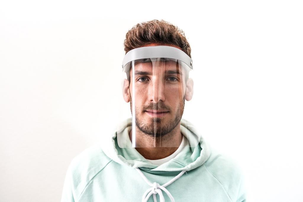 bequemes Gesichtsvisier kaufen: schützt besser als keine Maske