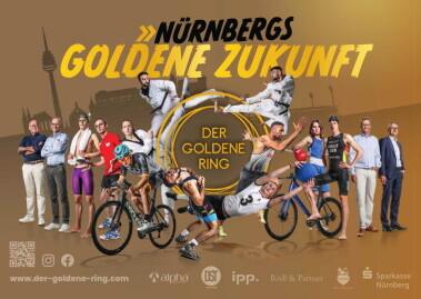 Sportler und Sponsoren Goldener Ring Nürnberg
